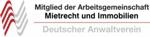 Mitglied der Arbeitsgemeinschaft Mietrecht und Immobilien im Deutschen Anwaltverein